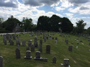 Burial grounds at St. Peter's Lutheran Church
